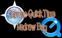 Camino-Quicktime Redraw Bug